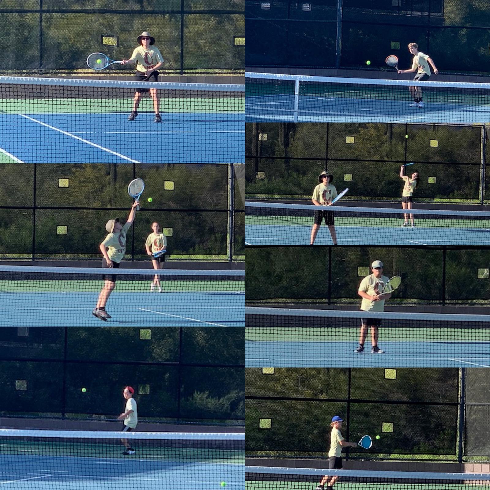 MS Tennis Falls at Anthem