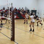 Varsity Volleyball Goes 1-1, JV 0-1