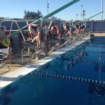 Lady Swimmers Show Well at McClintock