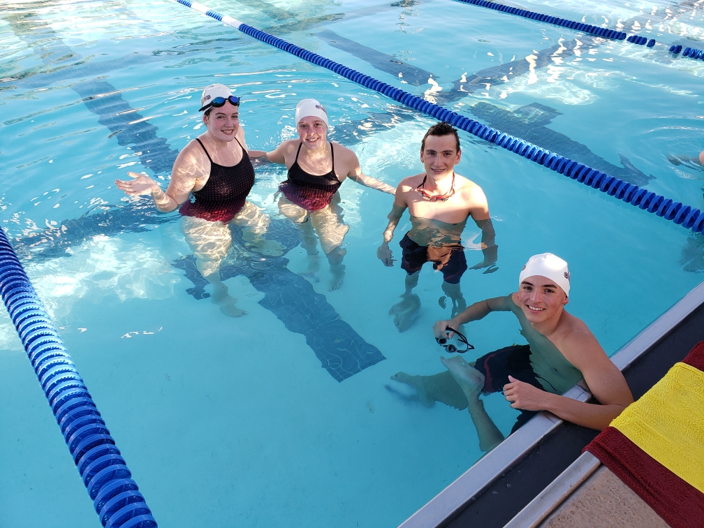 HS Swim Team Breaks More Records!!