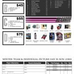 Order now for Winter Team Pictures