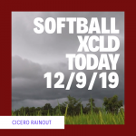 Softball 🥎 Xcld Today 12-9-19