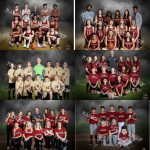 Pictures of multiple sports team.