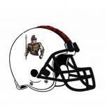 Cicero Prep football helmet.