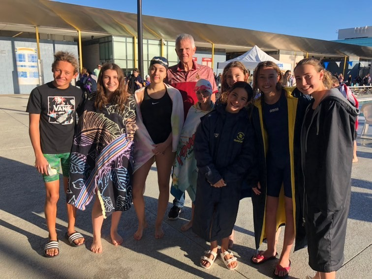MS Swim Team Dives Right In To Start Their Season