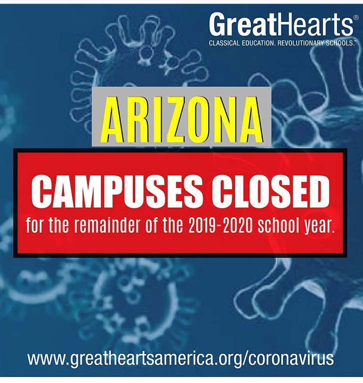 Campus Closed for Remainder Of The Year