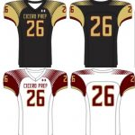 Picture of football uniforms