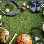 picture of sports equipment/balls