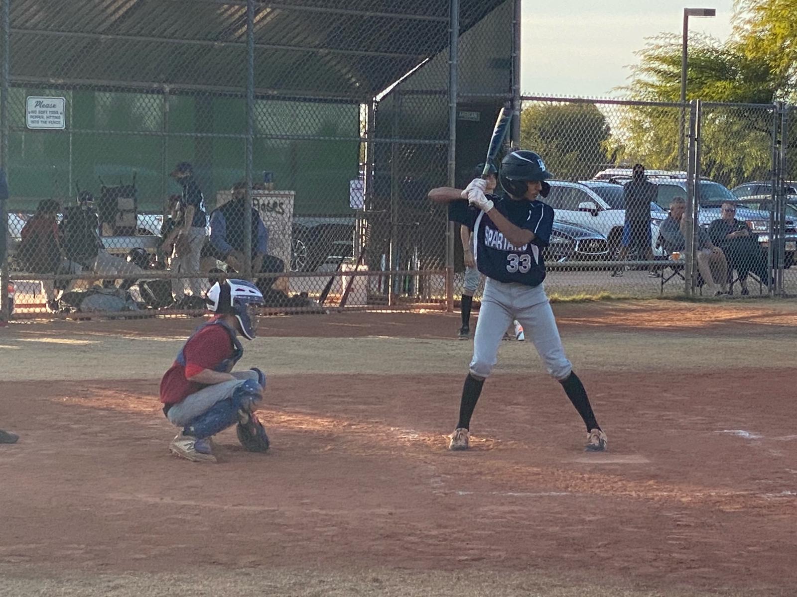 MS Boy's Baseball -Game #1 vs Scottsdale Prep 1/12