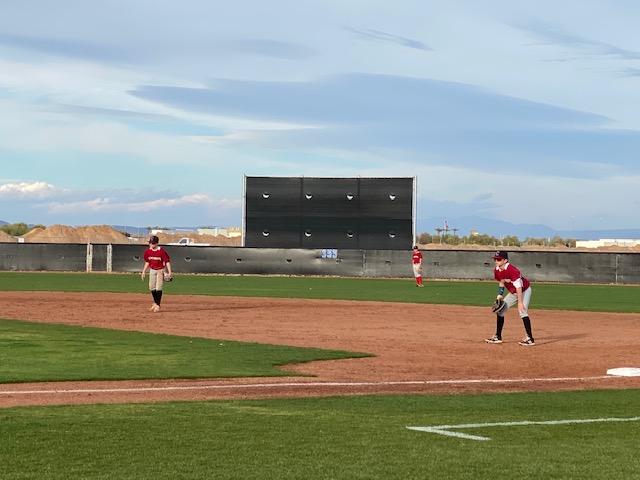 MS Baseball 2/3 vs. Paradise Honors MS
