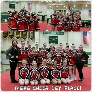 Competitive Cheer at NMU