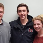 Three MSHS Seniors Honored as Scholar-Athlete Award Finalists