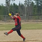 Marquette High School Junior Varsity Softball beat Gwinn High School 13-2