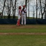 Marquette High School Varsity Baseball falls to Gaylord High School 4-2