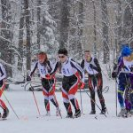 Marquette High School Coed Varsity Nordic Skiing finishes 1st place