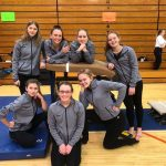 Coed Varsity Gymnastics finishes 2nd place at Escanaba Quad Meet