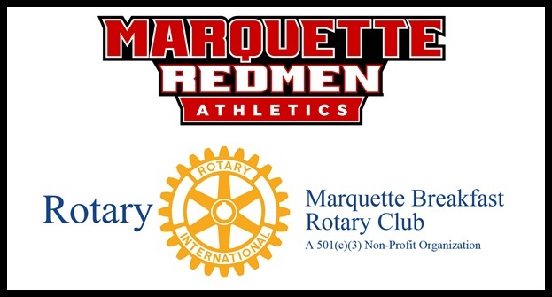 Rebounds for Rotary – MSHS Athletics and Marquette Breakfast Rotary Club Team up to Support Youth