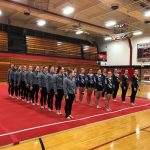 Coed Varsity Gymnastics finishes 2nd place at Marquette Invitational