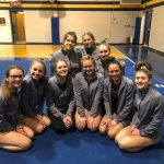 Varsity Gymnastics finishes 2nd place at Negaunee (Dual)
