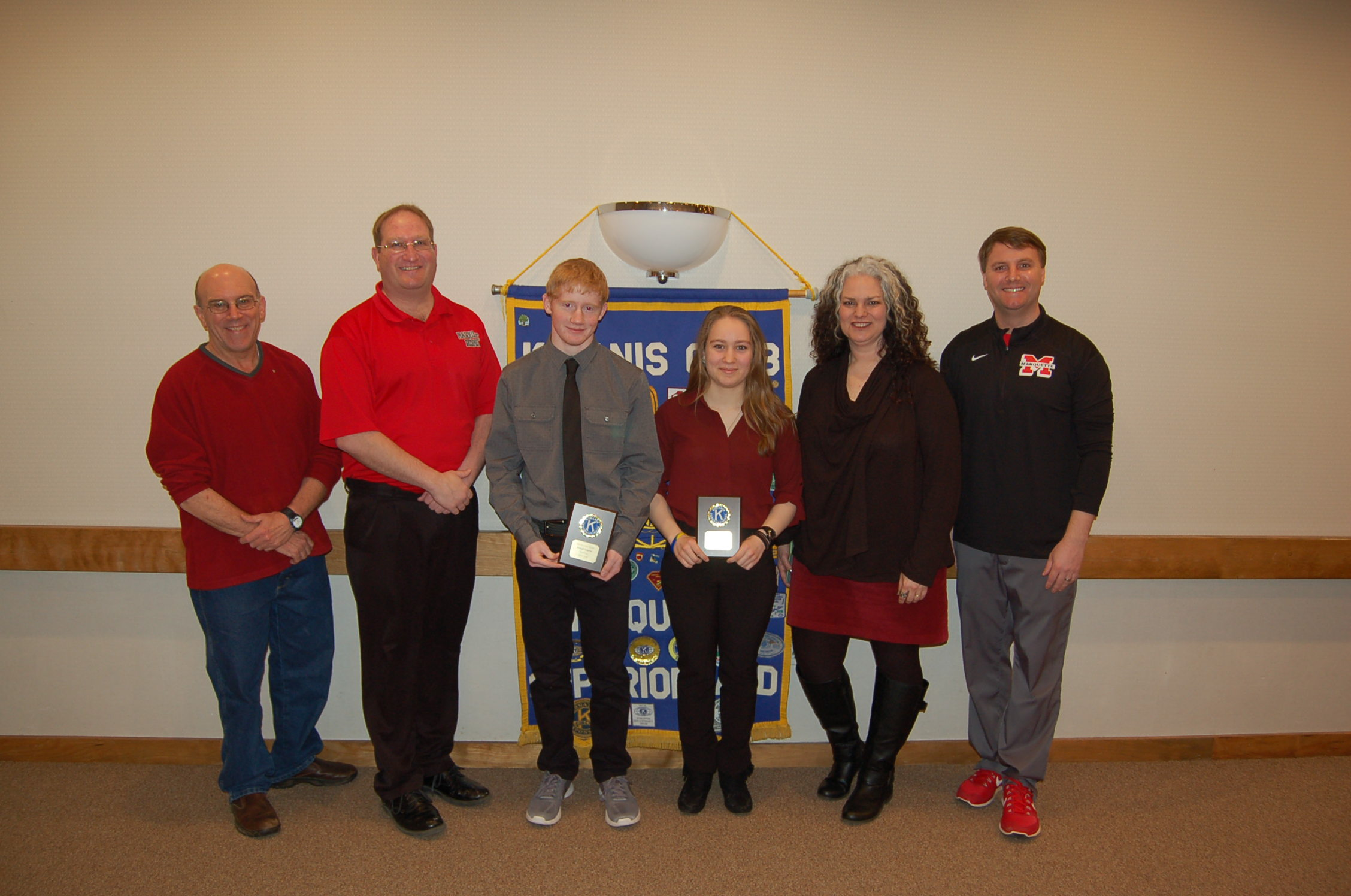 Kiah Staley and Joe Lagrou Named March Athletes of the Month