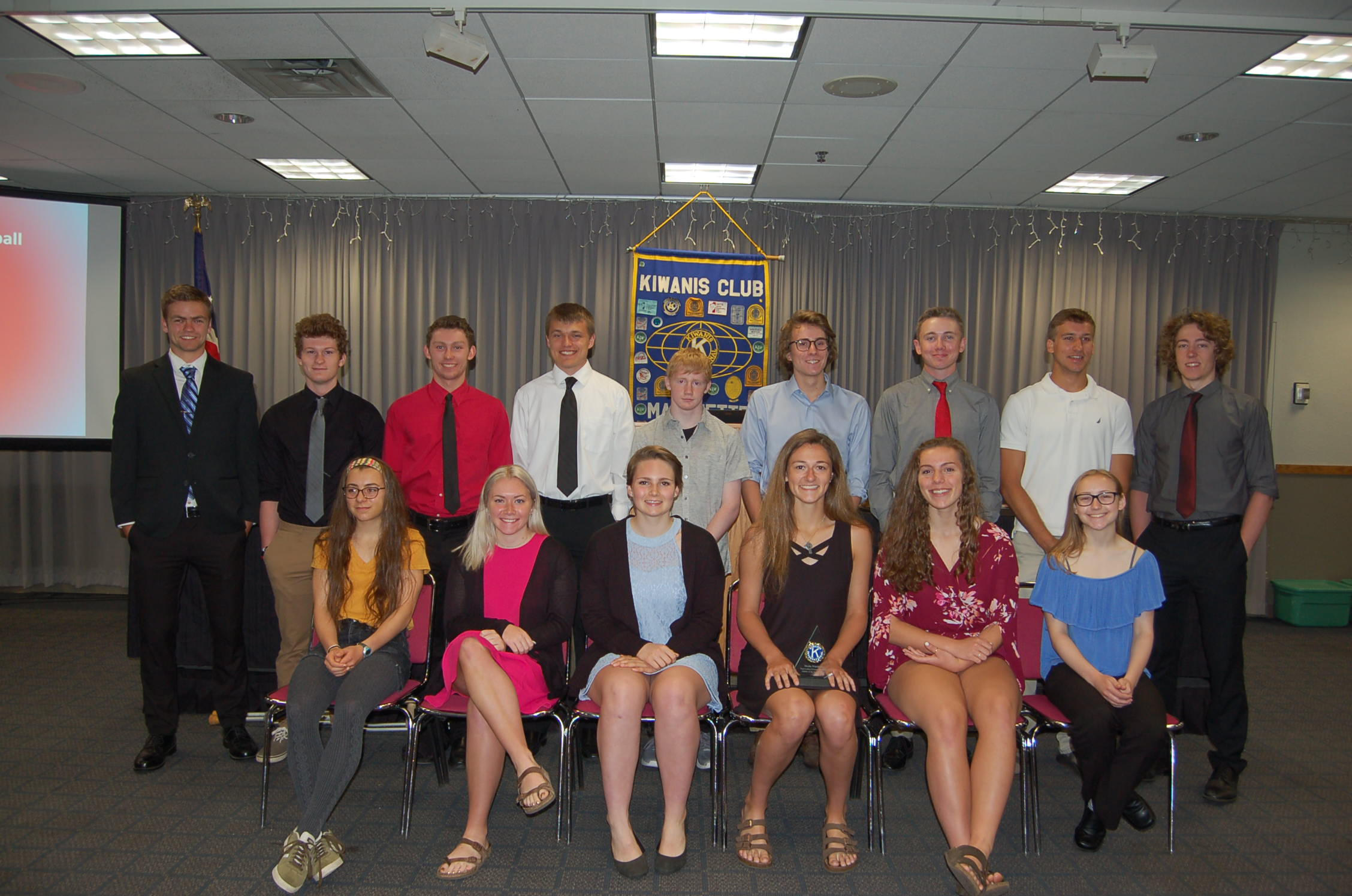 Warchock and Thomas Selected as Kiwanis Athletes of the Year