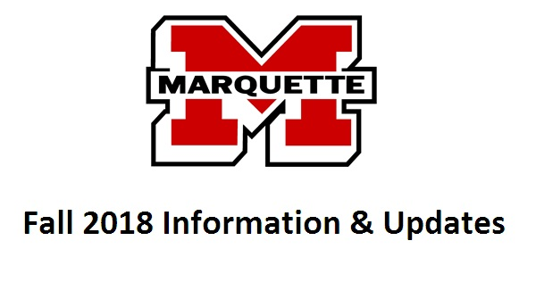 Fall 2018 Registration Information and Start Dates
