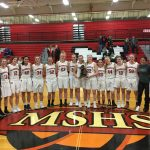 Girls Varsity Basketball Wins District Championship with 62-24 Win