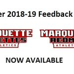 Winter 2018-19 Athletics Feedback Form Now Available