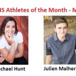 Rachael Hunt and Julien Malherbe Named May Athletes of the Month