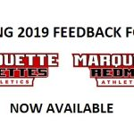 Spring 2019 Athletics Feedback Form Now Available
