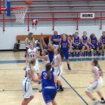 Girls' Baseketball Splits Two!