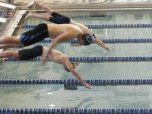 Varisty Co-ed Swimming Versus Mooresville