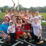 Boys' Track Wins County