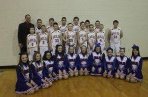 7th Grade Boys' Basketball County Champs