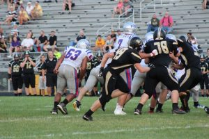 Varsity Football vs South Vermillion 9/4/15-9/5/15