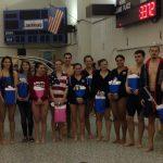 Swimming Senior Night vs Cascade