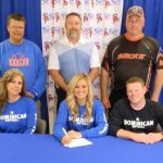 Makenzi Carrington signs with Dominican!
