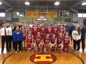 Boys' Varsity Basketball at the Hoosier Gym