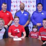 Johnathan Thibodeau signs with Wabash College!