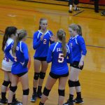 Lady Eagles Fall to Cloverdale