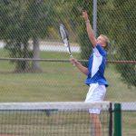 Varsity Tennis beat Danville 3-2