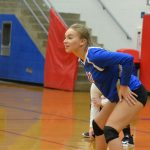Lady Eagles Dominate Eels