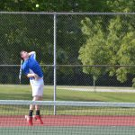 Tennis beats Greencastle in First Round of Sectional, 3-2