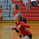 8th Grade Volleyball falls to North Putnam, 2-1