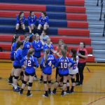 Lady Eagles Split with Mustangs in Close WIC Crossover