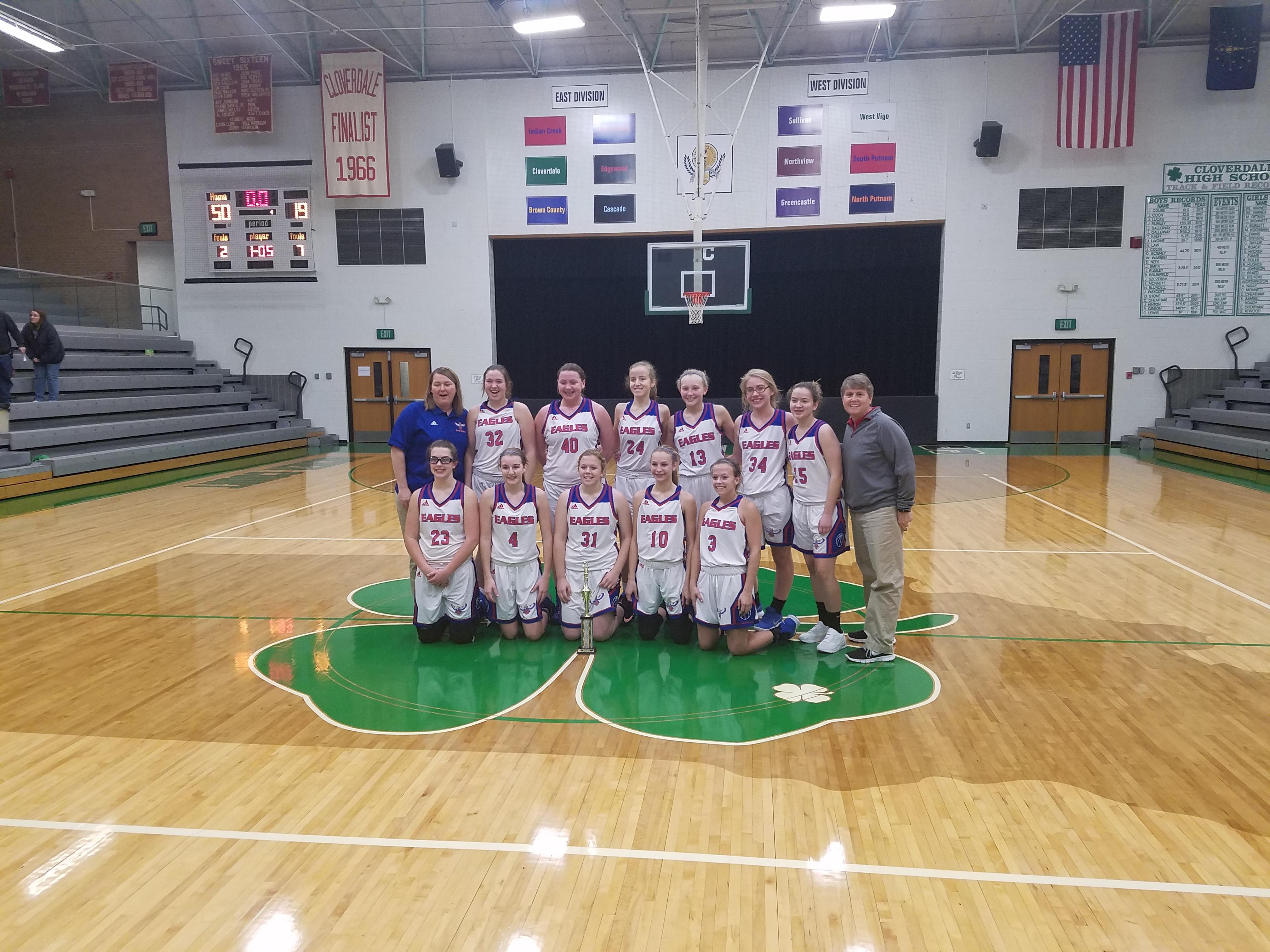 JV Girls' Basketball Wins County Tourney