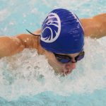 Eagle Swimmers Split with Fountain Central