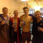 Boys' Swim Team Wins County Championship, Girls Finish 2nd
