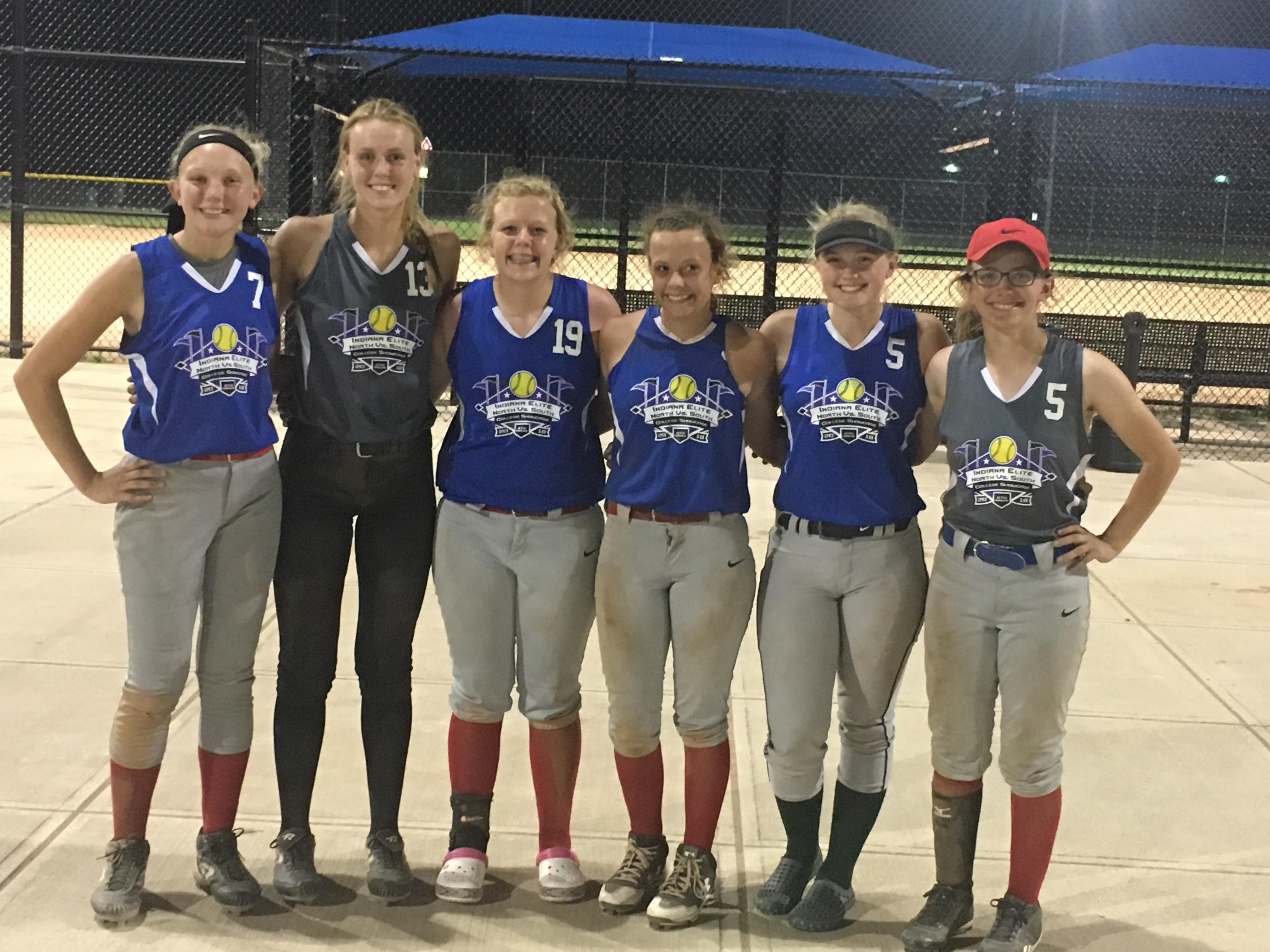 Softball Players Showcase Their Skills