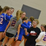 Lady Eagles beat North Vermillion in 2 sets